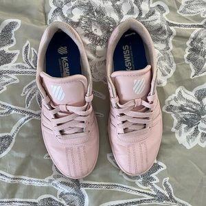 K Swiss women's pink sneakers